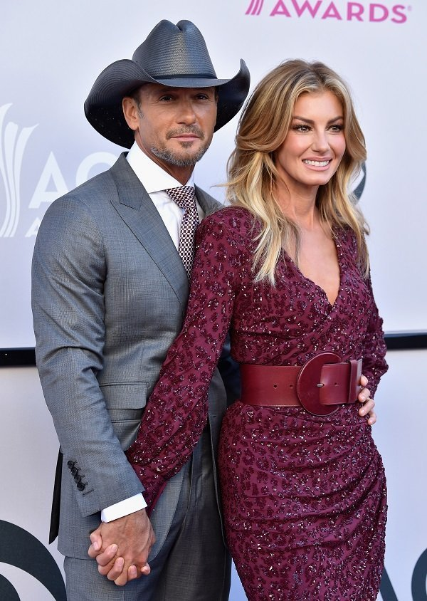 Tim McGraw and Faith Hill on April 2, 2017 in Las Vegas, Nevada | Source: Getty Images