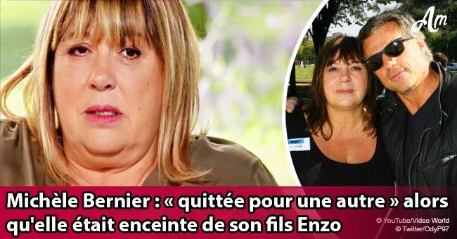 Michèle Bernier révèle que Bruno Gaccio l'a quittée alors qu'elle était enceinte de son fils Enzo