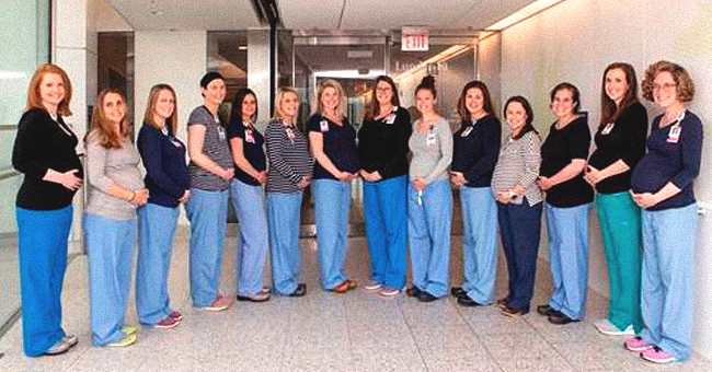 14 Nurses of an Oncology Unit in Massachusetts General Hospital Are Pregnant at the Same Time