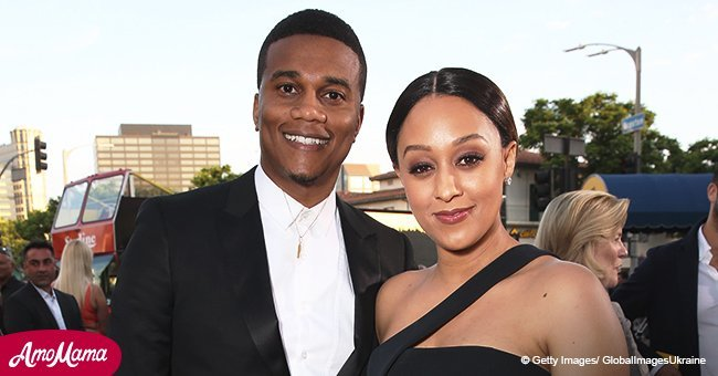 Tia Mowry celebrates 10-year-anniversary with Cory Hardrict as she posts heart melting family pic