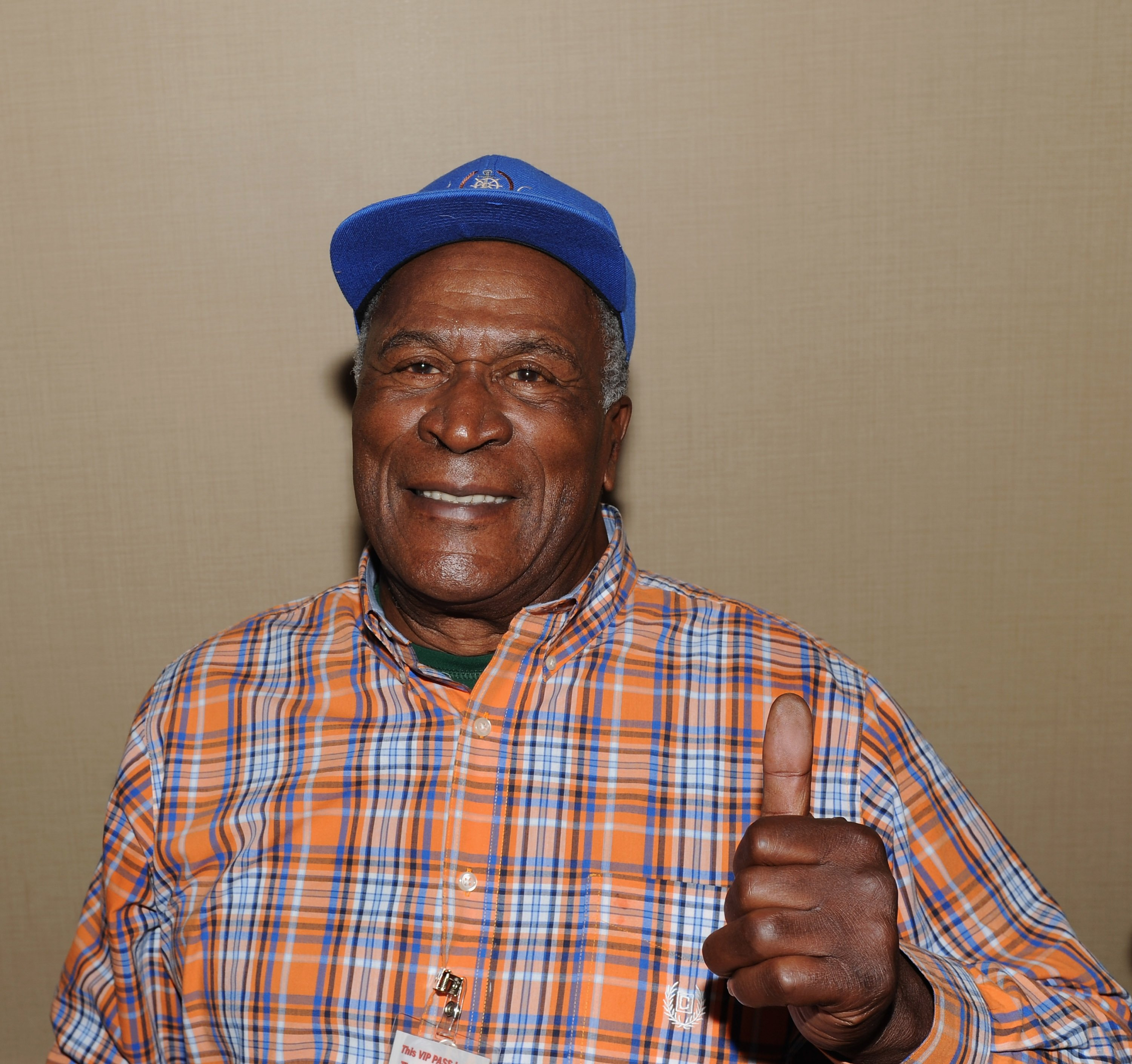 John Amos attending Day 1 the Chiller Theatre Expo at Sheraton Parsippany Hotel in Parsippany, New Jersey in October 2015. I Image: Getty Images.