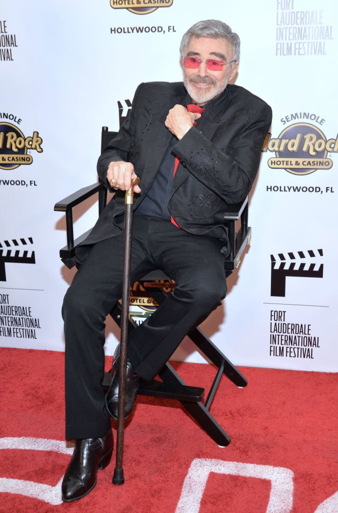 Burt Reynolds at the 32nd Fort Lauderdale International Film Festival Opening Night. | Source: Getty Images