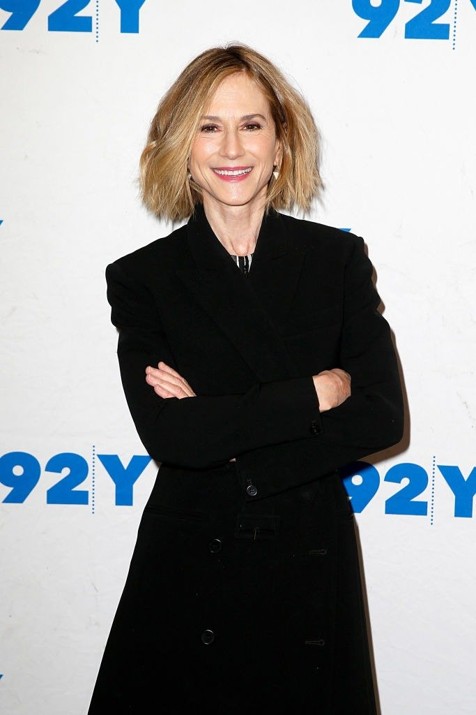 """Holly Hunter visits """"Incredibles 2"""" screening at 92nd Street Y on December 01, 2018. 