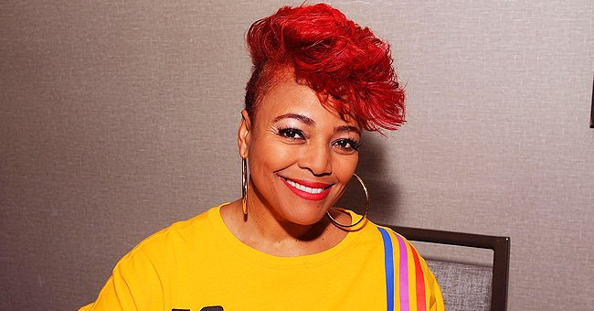 Kim Fields of 'Facts of Life' Shares Funny Photo With Her Son Taken in Quarantine