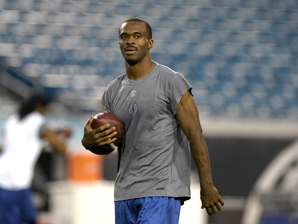 Marvin Harrison #88 of the Indianapolis Colts before play against the Jacksonville Jaguars at the Jacksonville Municipal Stadium on October 22, 2007   Photo: GettyImages