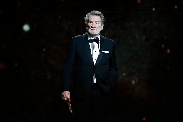 Eddy Mitchell lors de la cérémonie des Cesar Film Awards 2018. | Photo : Getty Images