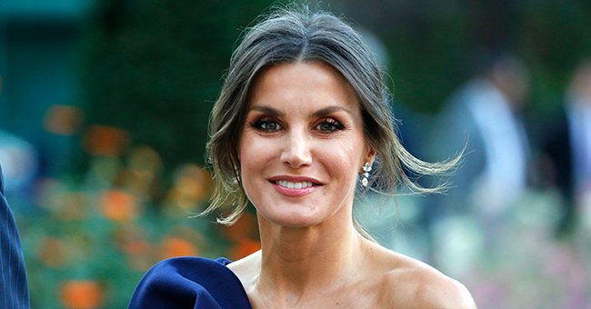 Queen Letizia Looks Stunning In a Ravishing Red Dress during Her Recent Public Appearance