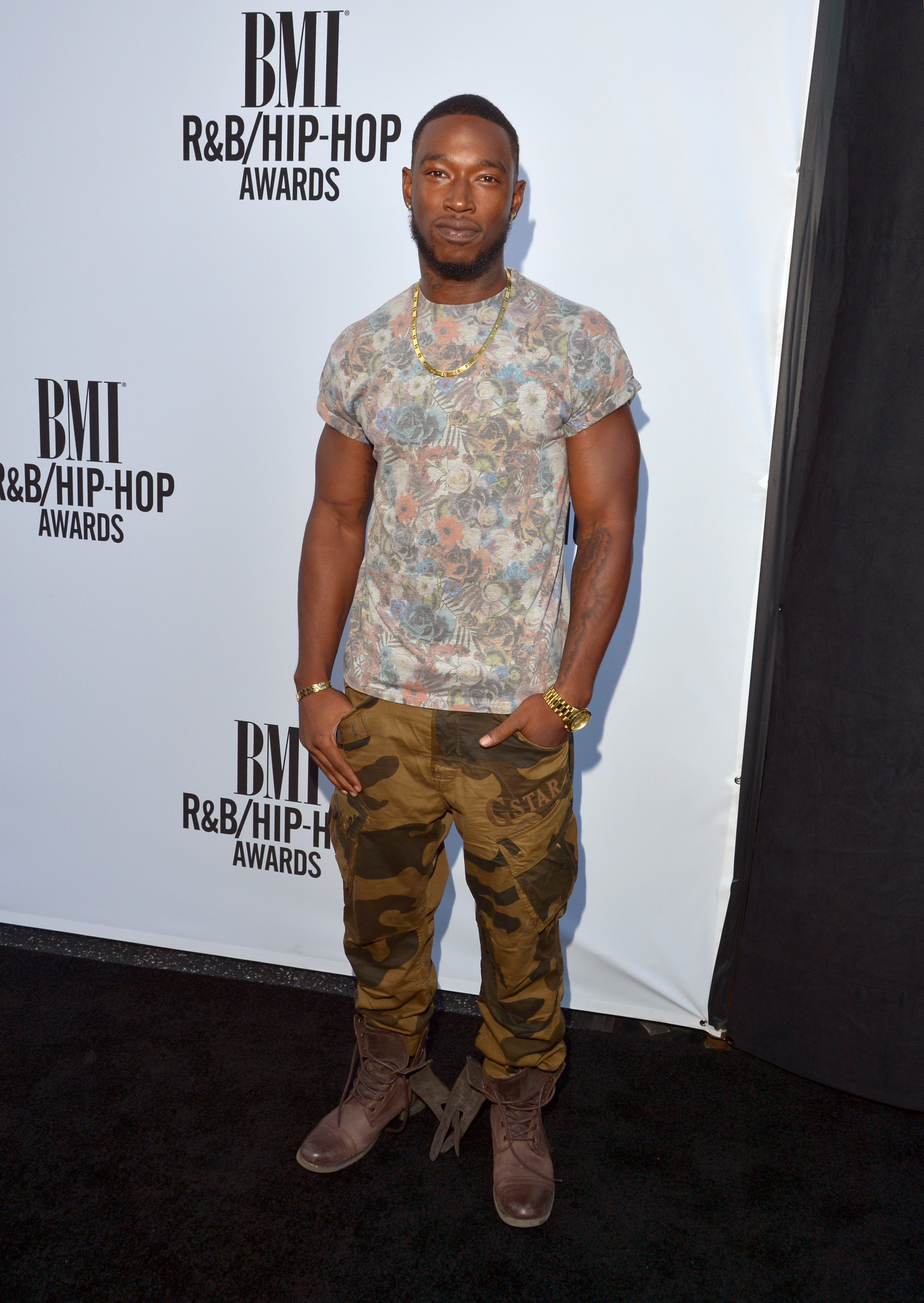 Kevin McCall at the 2014 BMI R&B/Hip-Hop Awards in Hollywood. | Photo: Getty Images