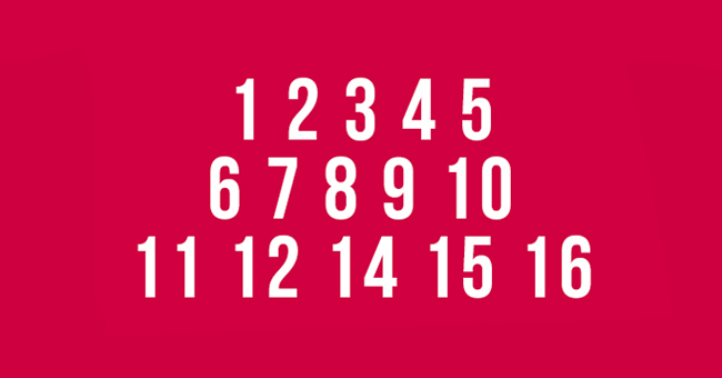 Can You Find the Missing Number? This Concentration Test Will Have Your Brain Working
