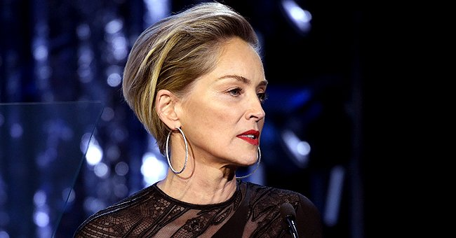 Sharon Stone Talks about California Wildfires & Mentally Prepares to Leave Belongings Behind