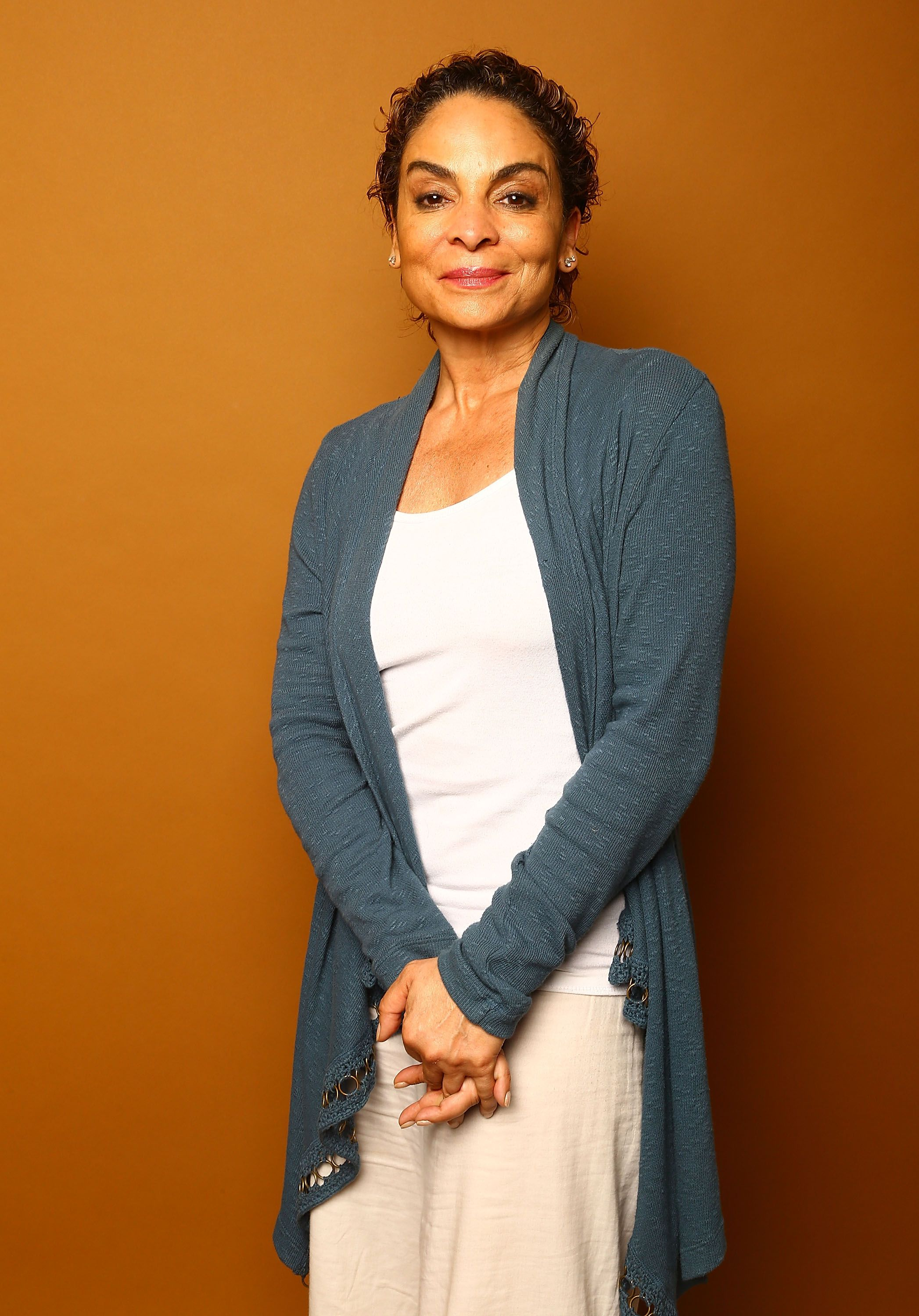 Jasmine Guy poses for a portrait at the 2014 American Black Film Festival at the Metropolitan Pavillion on June 21, 2014 in New York City. | Source: Getty Images