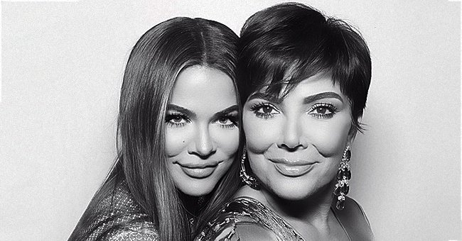 Khloé Kardashian Pays Tribute to Mom Kris Jenner in a Gorgeous Black and White Snap