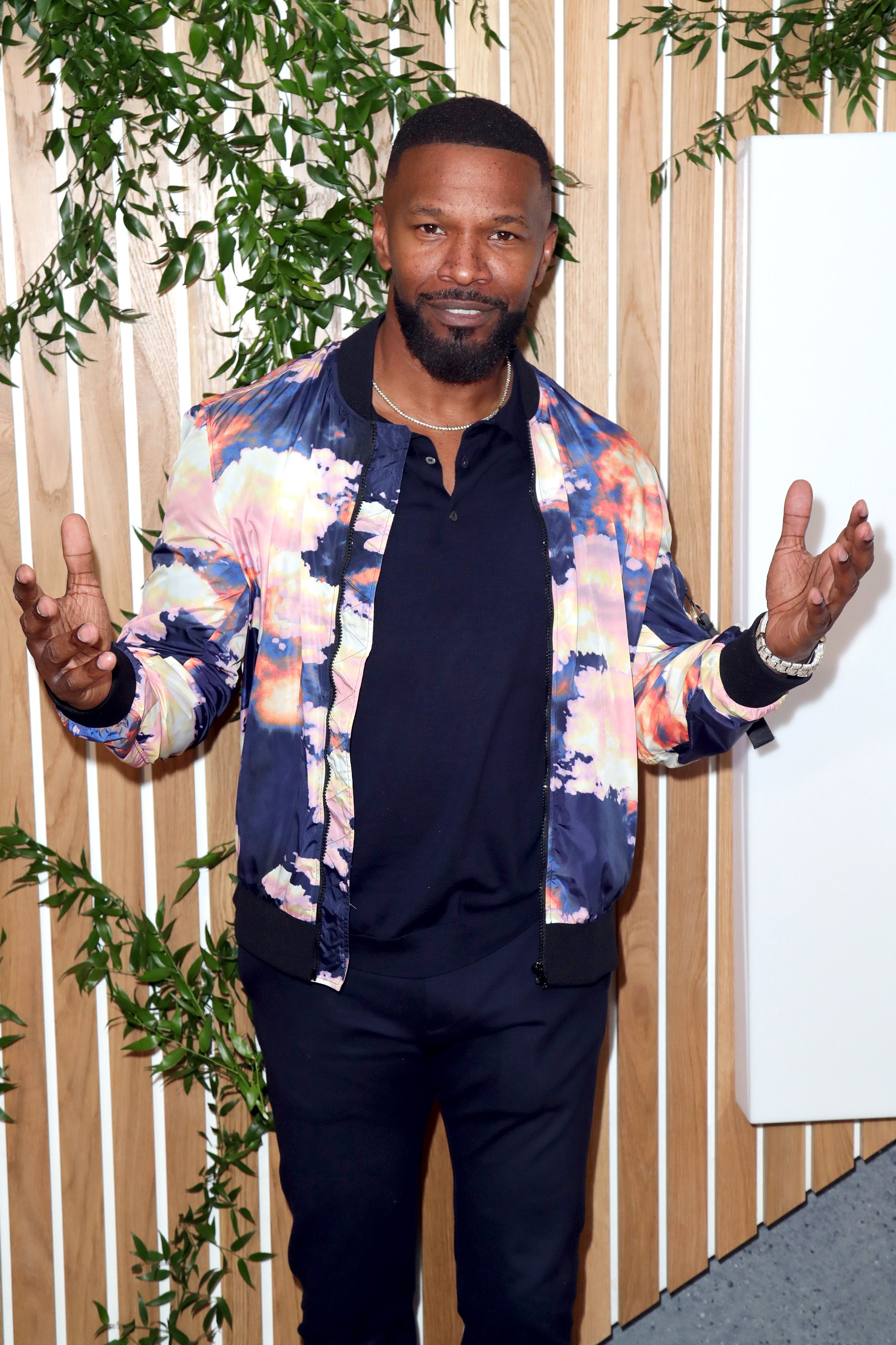 Jamie Foxx at the 1 Hotel West Hollywood grand opening on November 5, 2019. | Photo: Getty Images