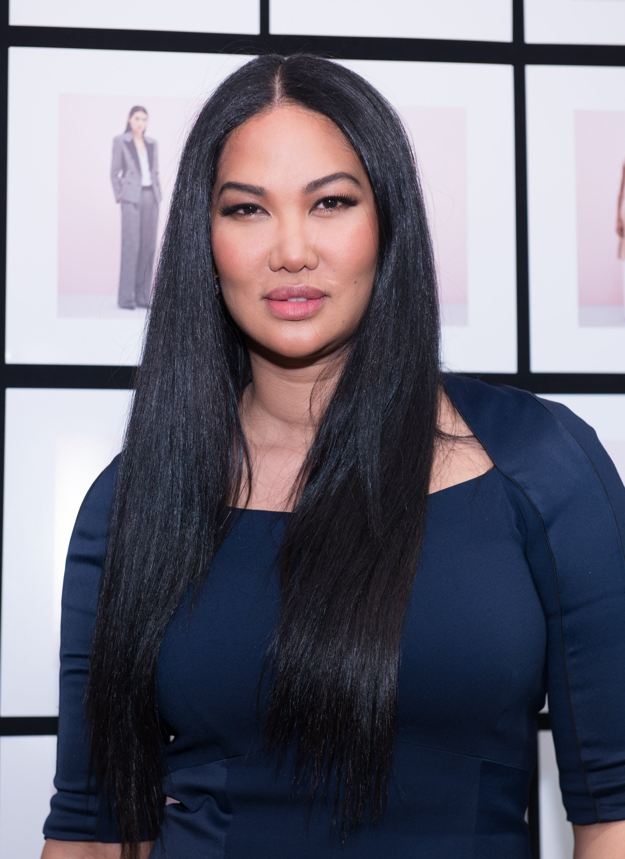Kimora Lee Simmons at the Fall 2016 New York Fashion Week on February 12, 2016 in New York City. | Source: Getty Images
