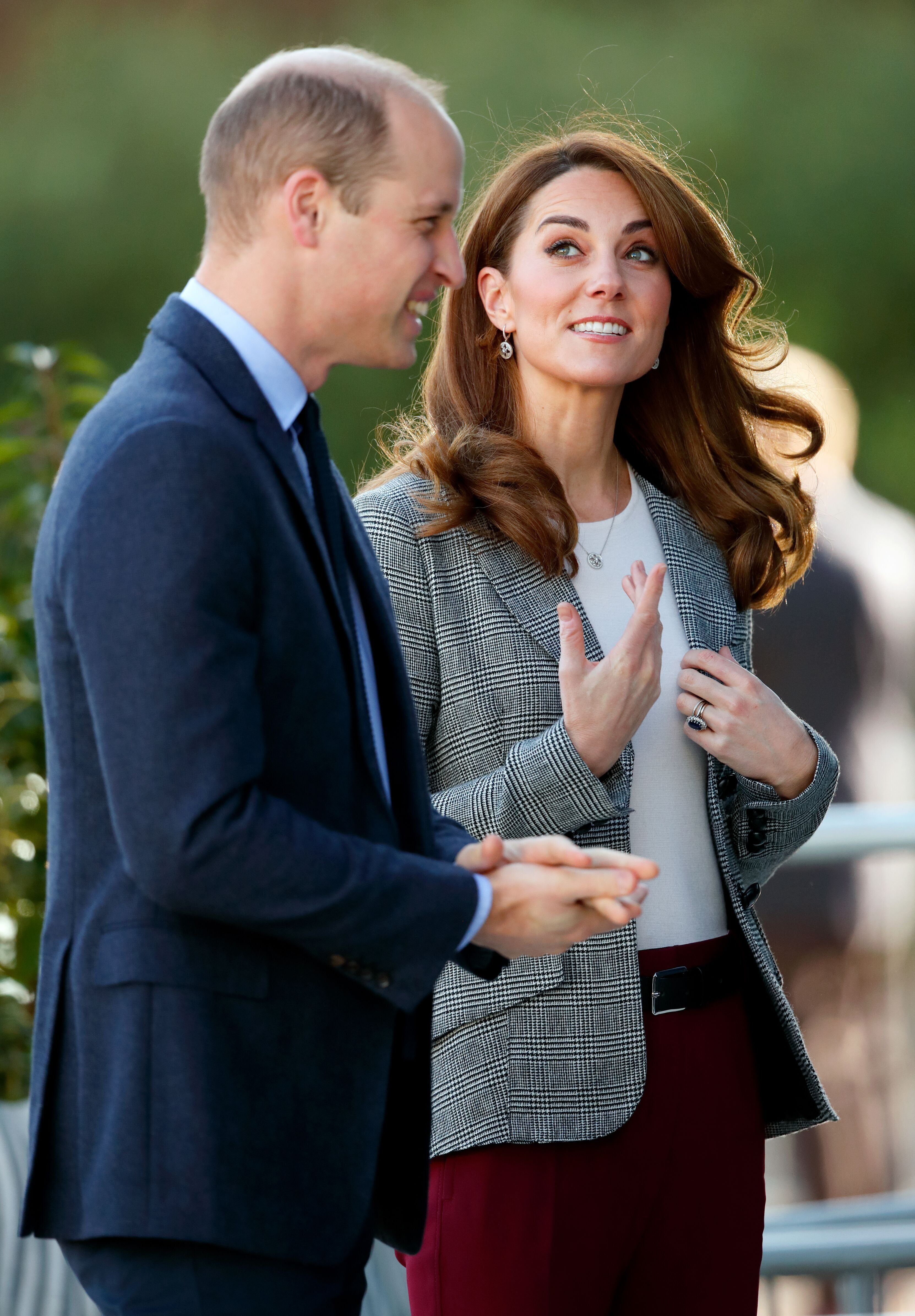 Prince William, Duke of Cambridge and Catherine, Duchess of Cambridge attend Shout's Crisis Volunteer celebration. | Source: Getty Images