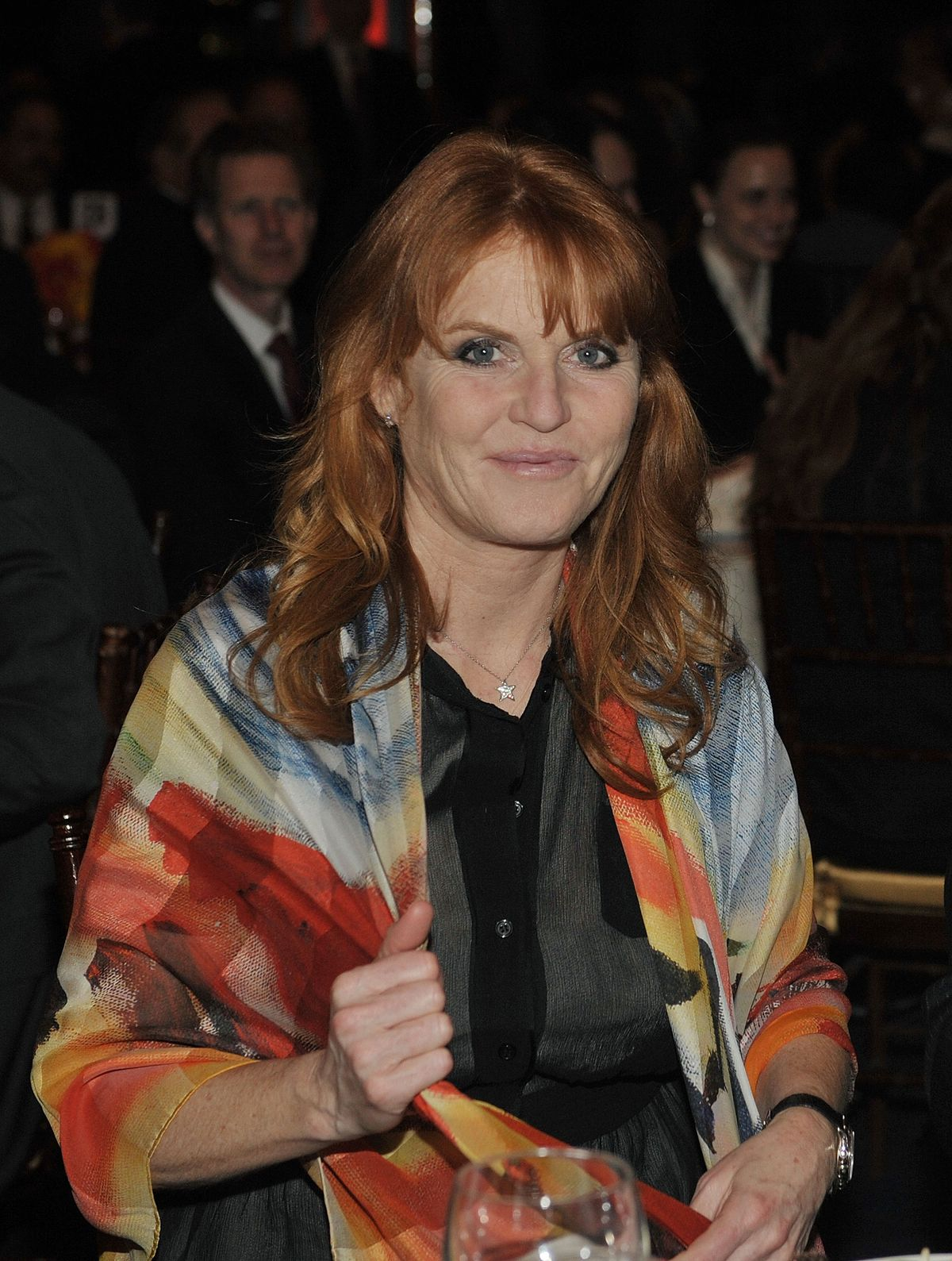 Sarah Ferguson, Duchess of York at the Miracle Corners of the World Annual Gala dinner celebration on April 13, 2010 | Photo: Getty Images