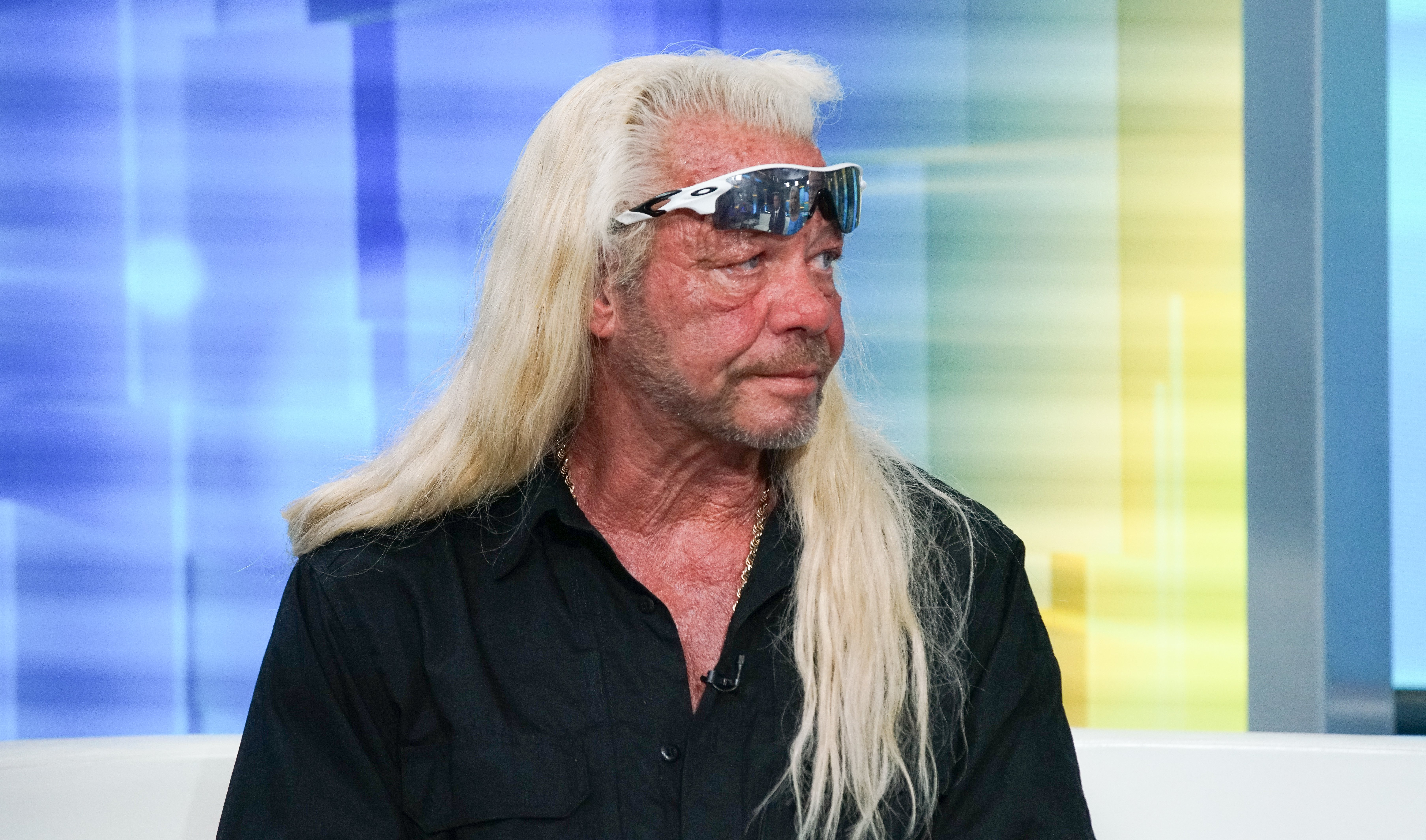 """Duane Chapman aka Dog the Bounty Hunter visits """"FOX & Friends"""" at FOX Studios on August 28, 2019, in New York City. 
