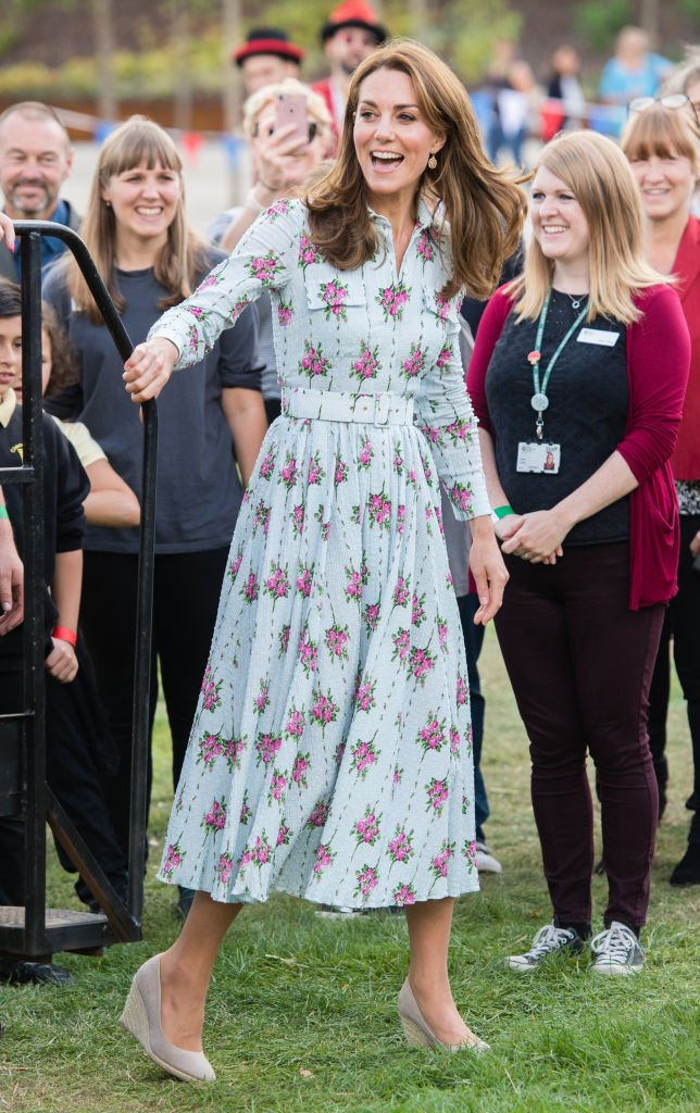 The Duchess of Cambridge attending the Back to Nature event on September 10, 2019 in Woking, England. | Photo: Getty Images
