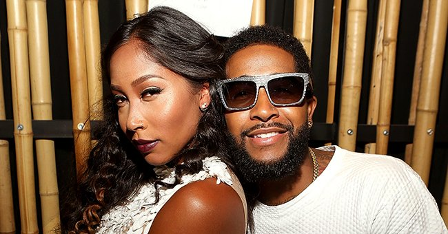 Omarion and Apryl Jones' Kids Megaa and A'mei Pose in Cool Summer Outfits While Outdoors