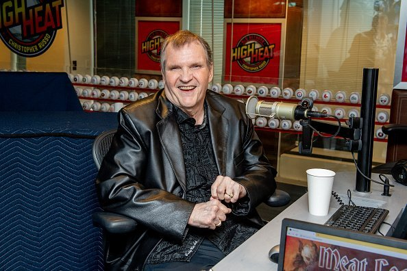 Meat Loaf at SiriusXM Studios on August 21, 2019 in New York City. | Photo: Getty Images