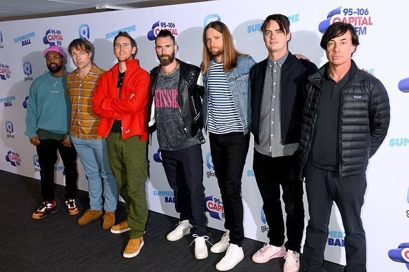 Maroon 5 at Wembley Stadium on June 08, 2019 in London, England. | Photo: Getty Images