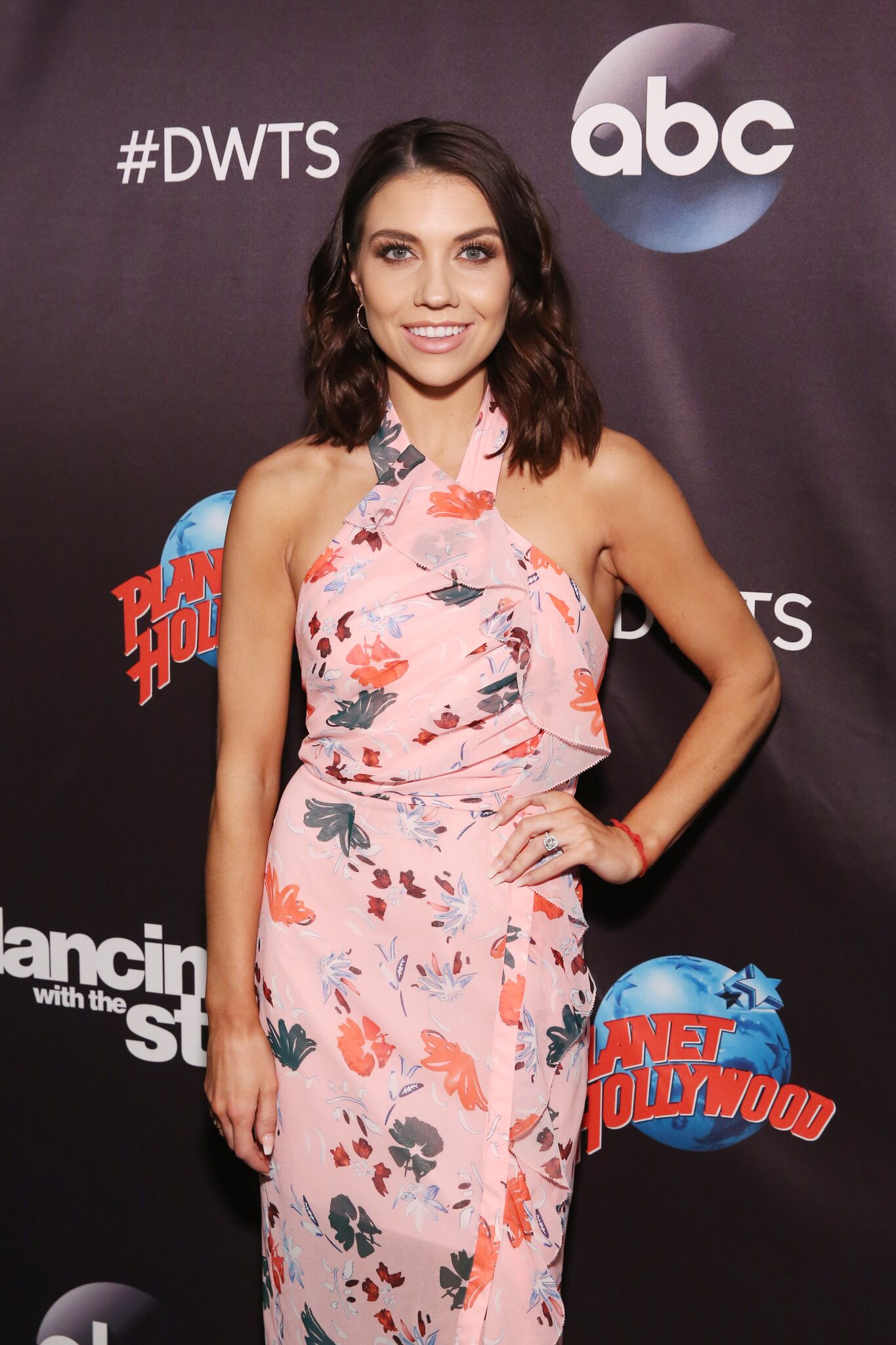 Jenna Johnson attends Dancing With The Stars Season 27 Cast Reveal Red Carpet At Planet Hollywood Times Square | Getty Images