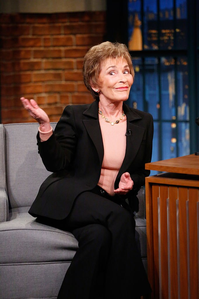 Judge Judy Sheindlin during an interview on October 4, 2016   Photo: Getty Images