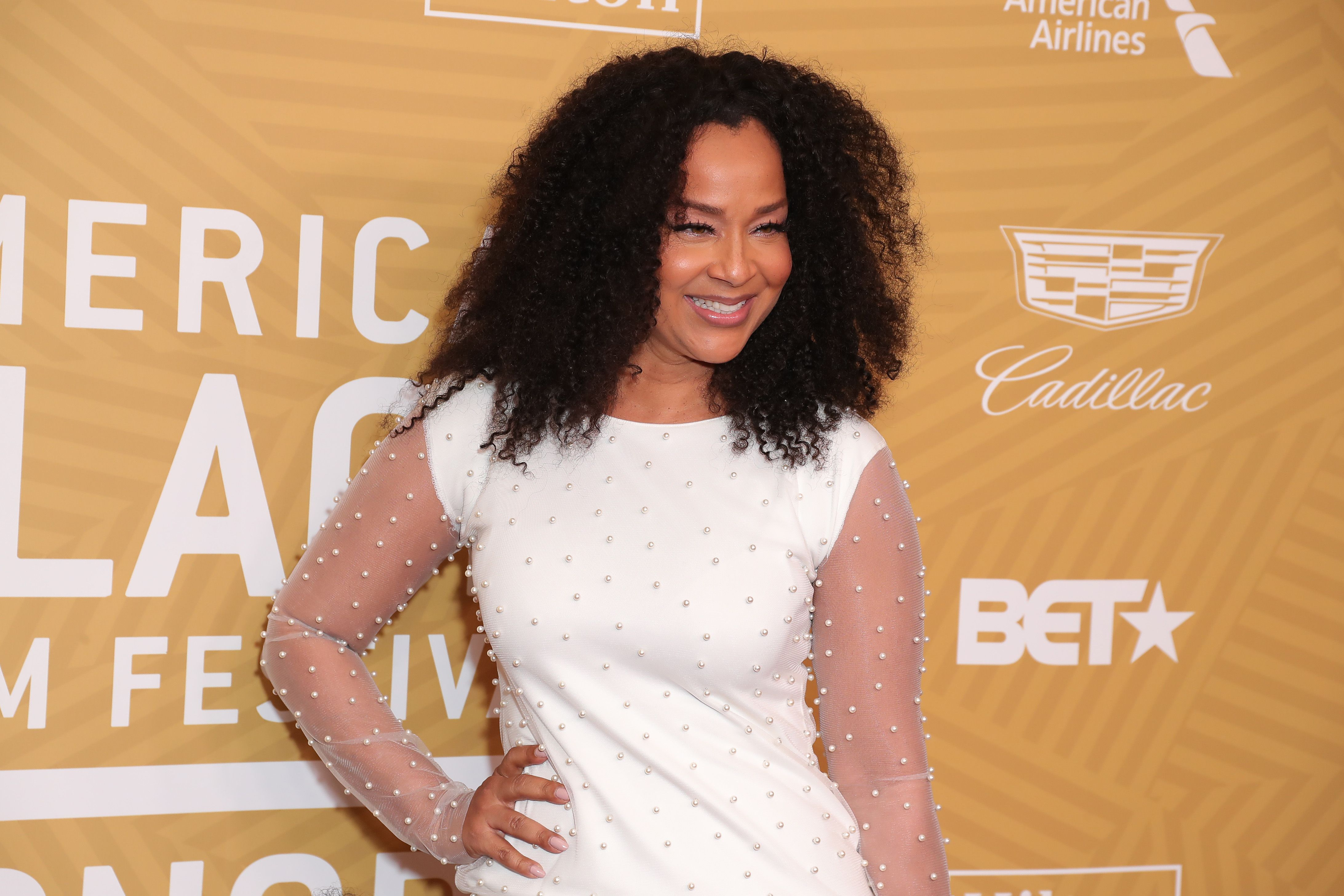 """""""Single Ladies"""" star LisaRaye McCoy attends the 2020 American Black Film Festival in Beverly Hilton Hotel, California 