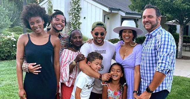 Twin Sisters Tia & Tamera Mowry's Parents Make Rare Appearance in Separate Family Photos