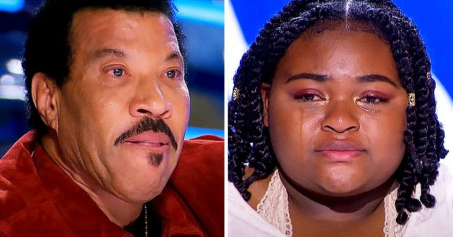 Lionel Richie Weeps during Teenager Ronda Felton's 'American Idol' Audition