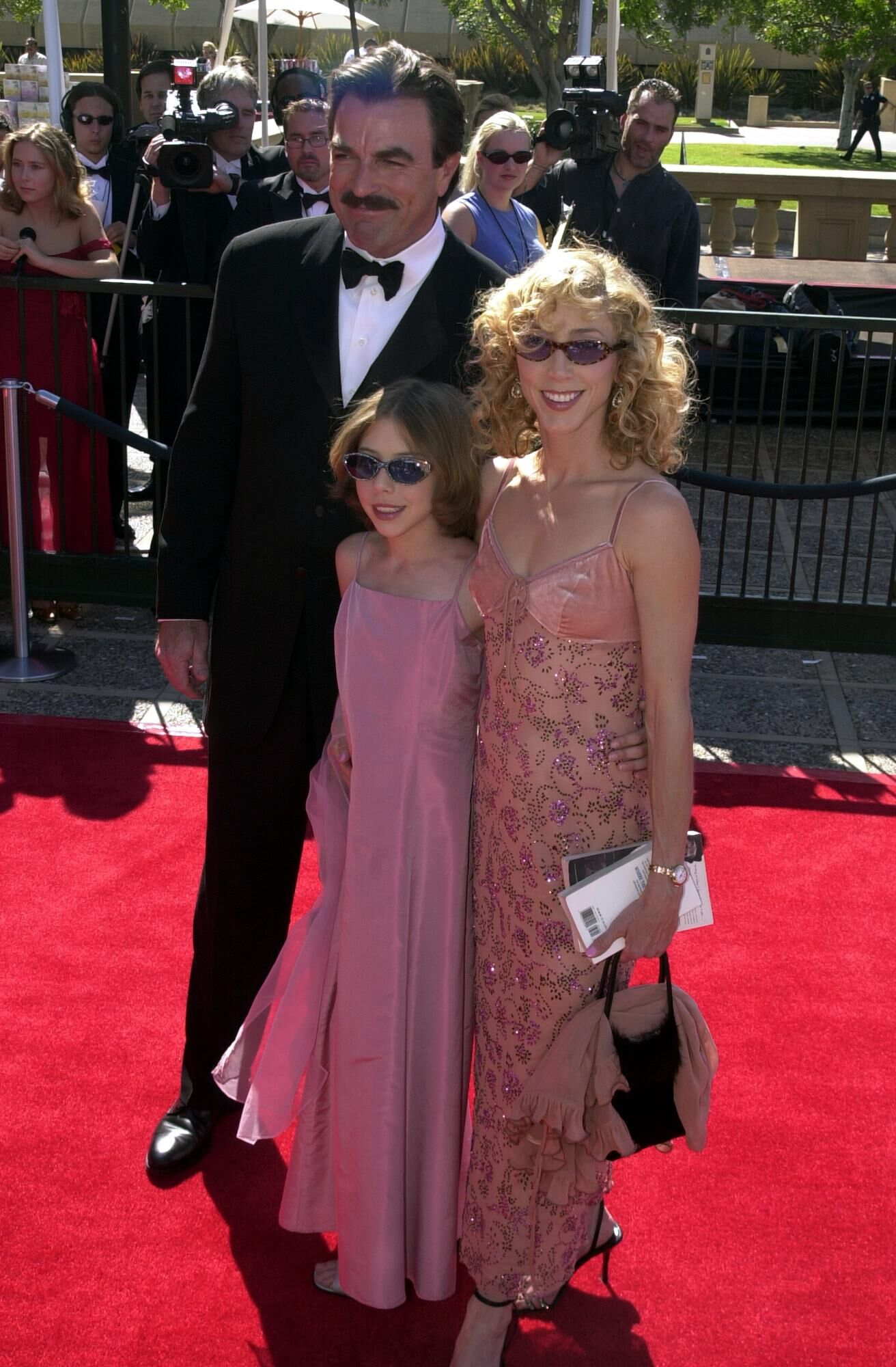 Tom Selleck and family arrive August 26, 2000 at the Creative Emmy Awards held at the Pasadena Civic Center  | Getty Images / Global Images Ukraine
