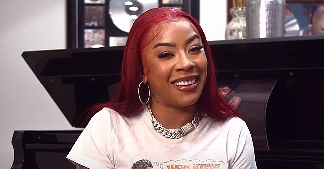 Keyshia Cole's Son Tobias Roars Loudly While Standing On a Table Wearing a Tiger T-Shirt (Video)