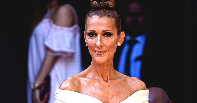 Singer Céline Dion Shares Video of Herself in Red Latex Dress That Shows off Her Slim Figure