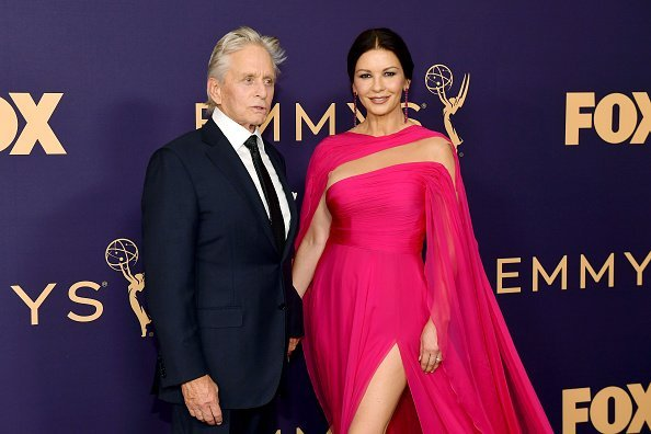 Michael Douglas and Catherine Zeta-Jones attend the 71st Emmy Awards at Microsoft Theater | Photo: Getty Images