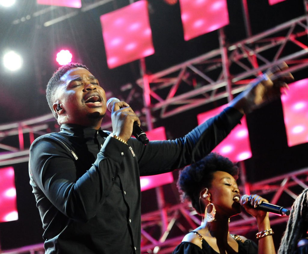 Dr Tumi at the Idols SA S15 Top 10 performance at the State Theatre on September 15, 2019 | Photo: Getty Images