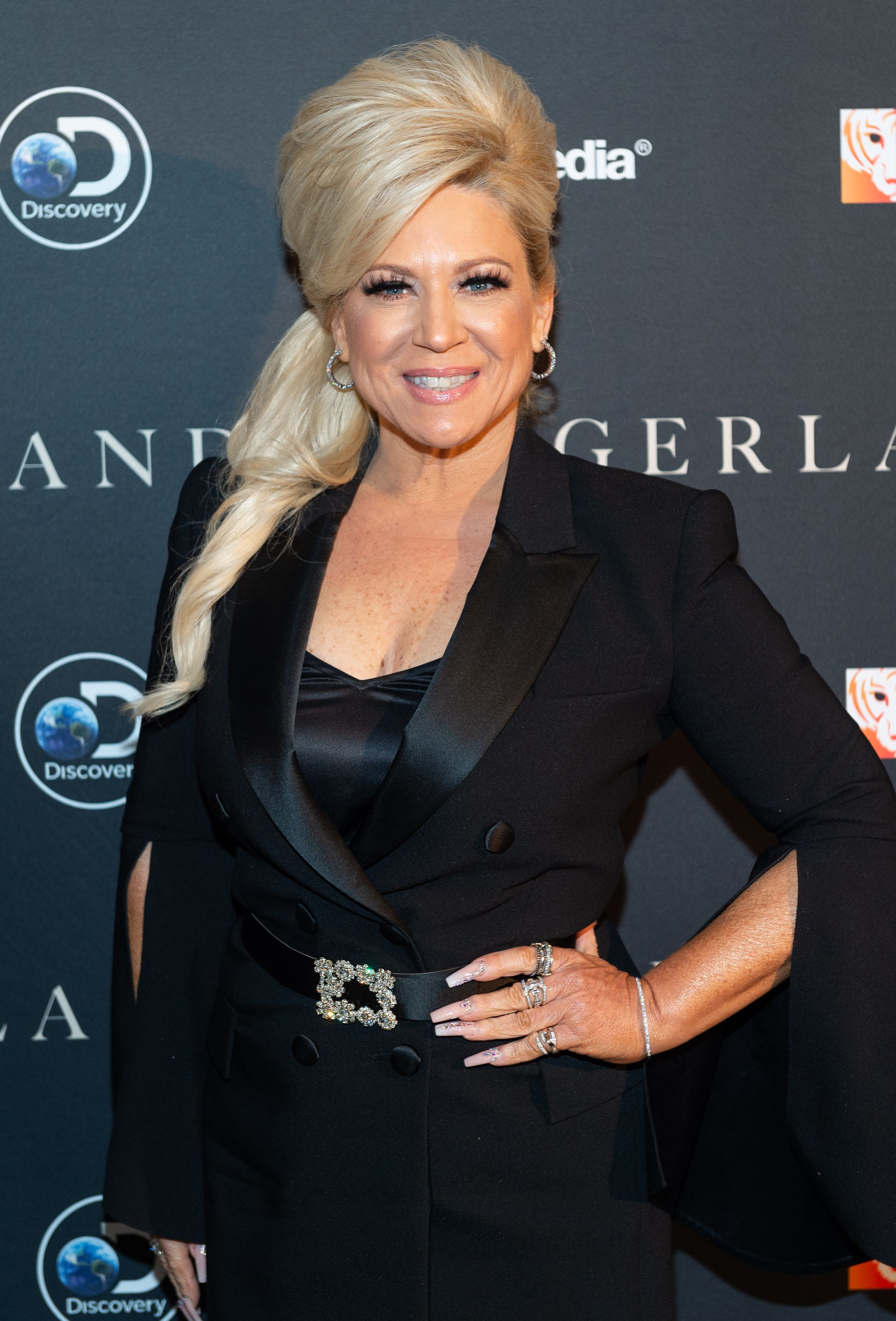 """Theresa Caputo atthe """"Tigerland"""" New York screening at Crosby Street Hotel on March 27, 2019, in New York City 