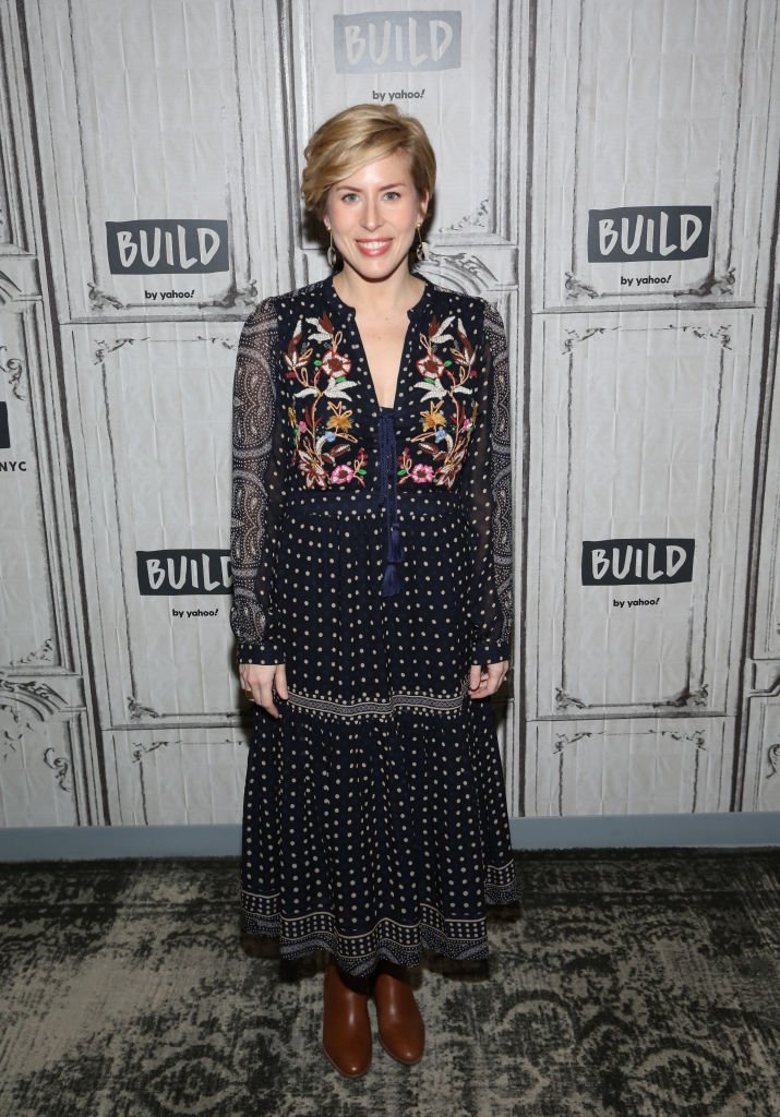 "Erin Napier attends the Build Series to discuss the new season of ""Home Town."" Source  