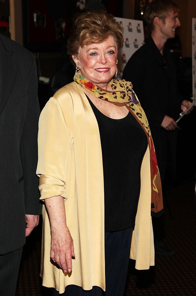 "Rue McClanahan arrives at ""Celebrating Bea Arthur"" in Manhattan in September 2009 