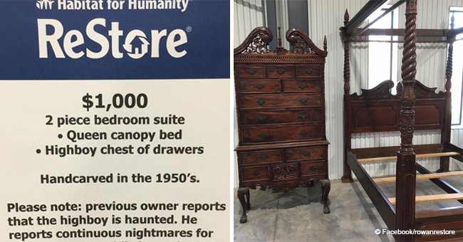 NC Thrift Store Sells off Haunted Furniture That Owner Said Caused 'Continuous Nightmares'