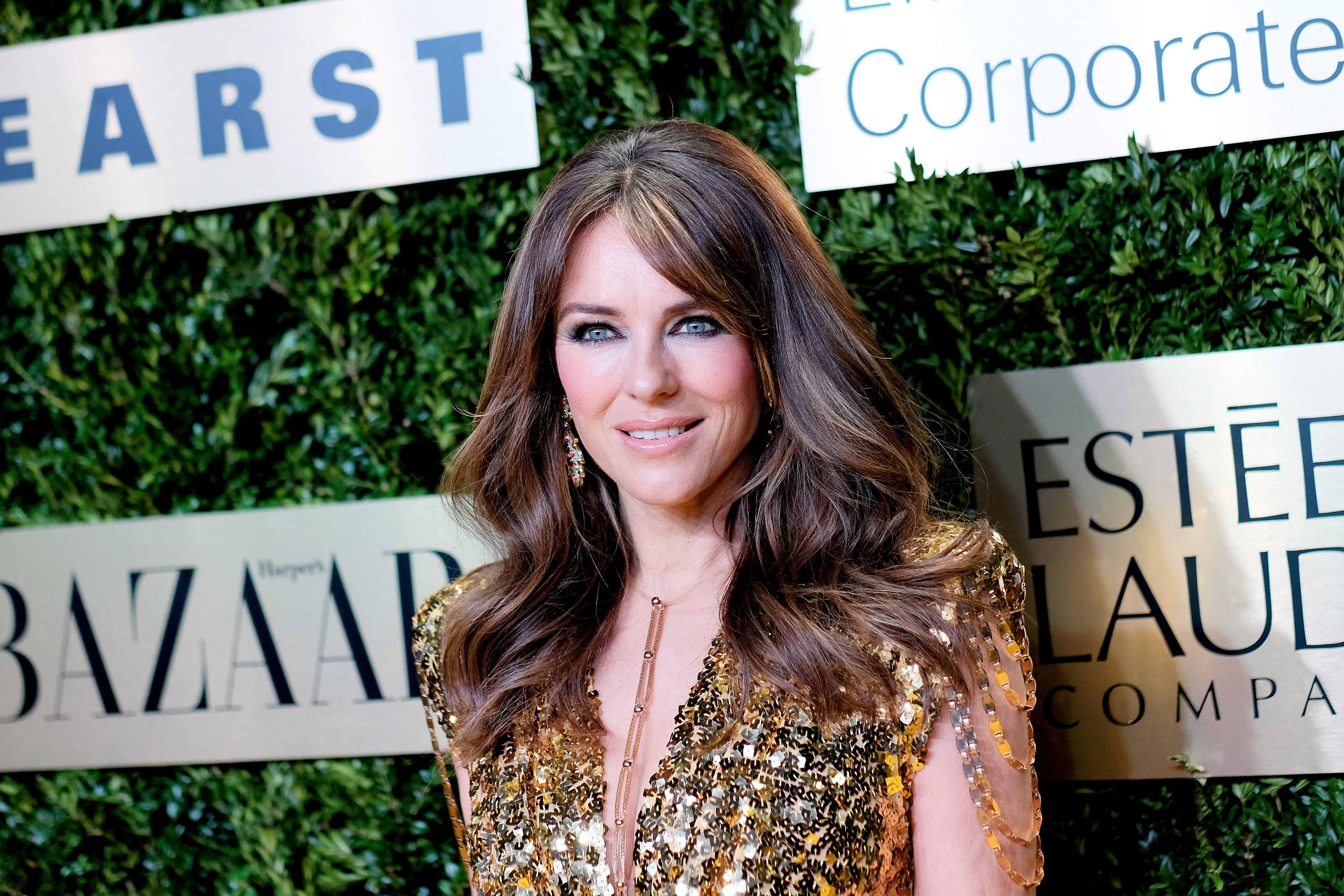 Elizabeth Hurley at the Lincoln Center Corporate Fashion Gala honoring Leonard A. Lauder at Alice Tully Hall on November 18, 2019 | Photo: Getty Images