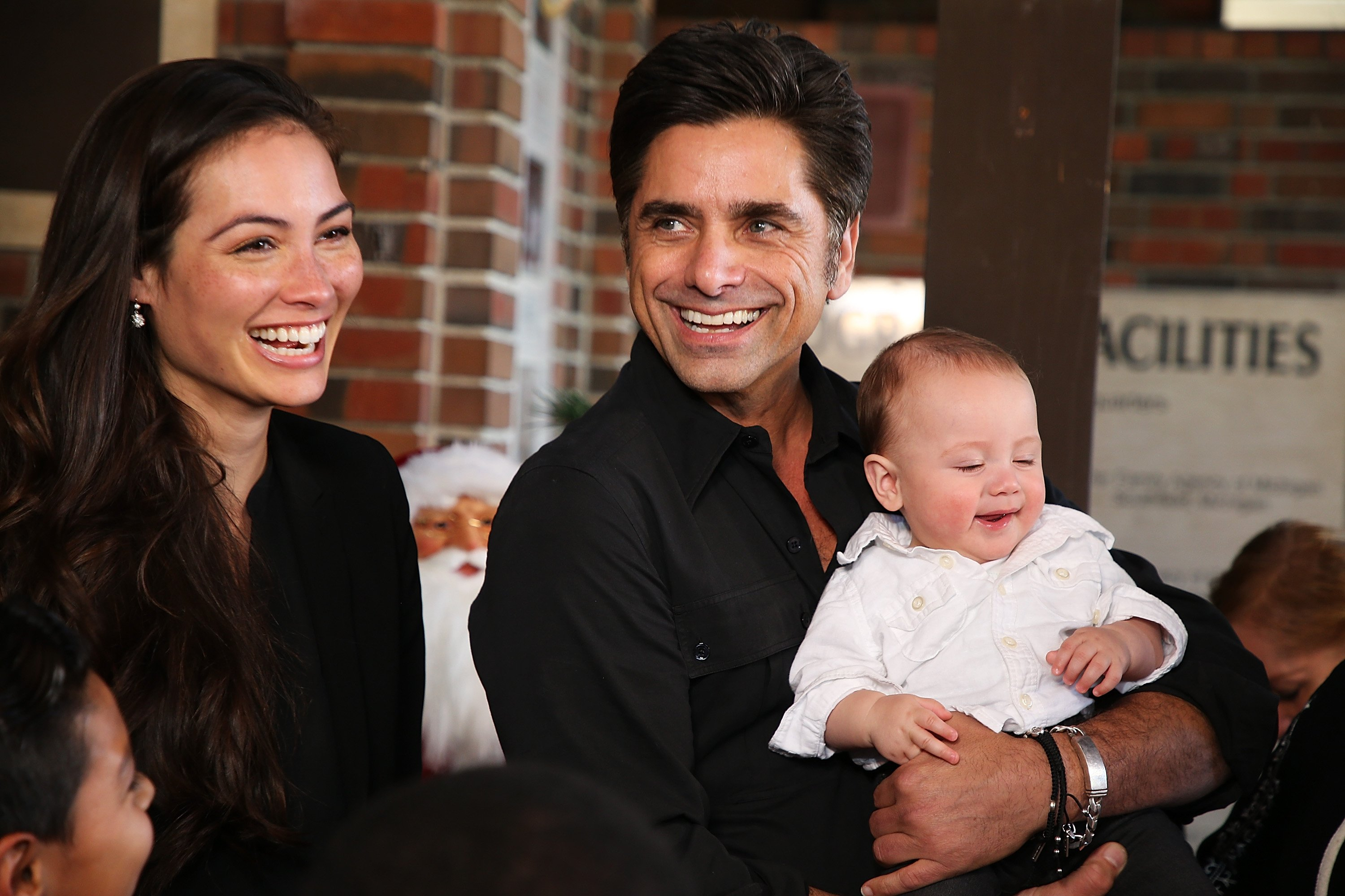 John Stamos with his wife Caitlin McHugh and their son, Billy Stamos attend a special event on November 27, 2018 in Beaumont, California | Photo: Getty Images