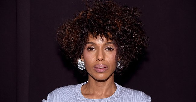 'Little Fires Everywhere's Kerry Washington Shows Cleavage & Afro Hair Dancing in a Nude Suit