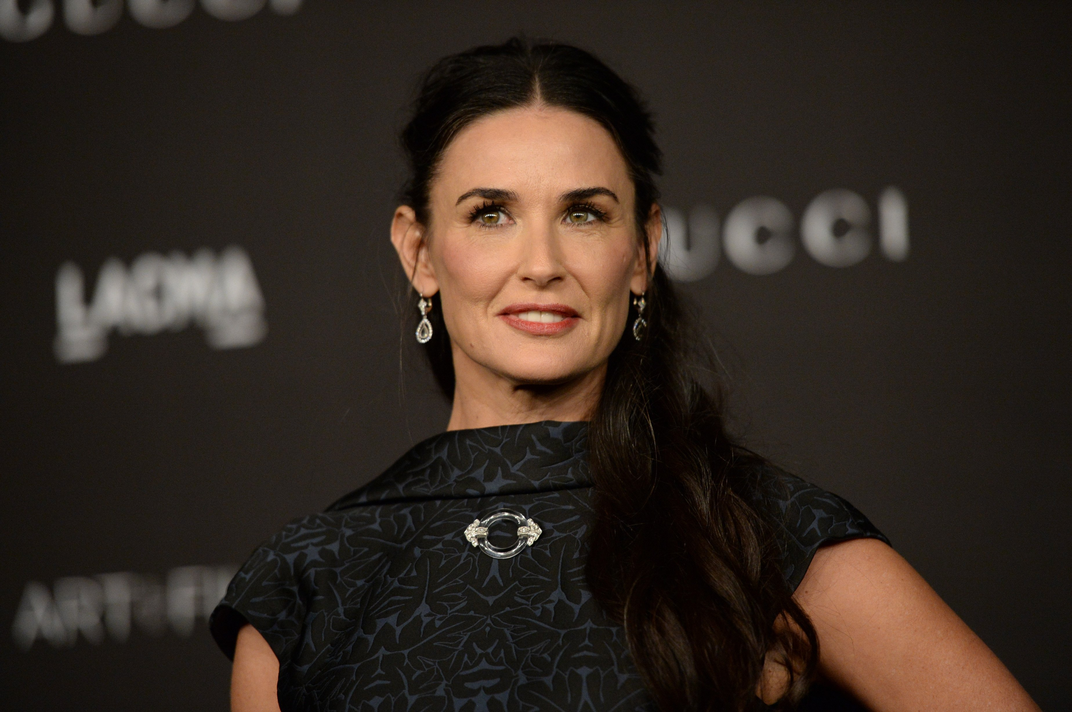 Demi Moore attends the 2014 LACMA Art + Film Gala at LACMA on November 1, 2014 in Los Angeles, California   Photo: Getty Images