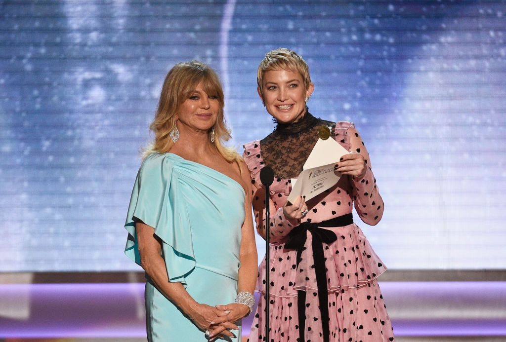 Goldie Hawn and Kate Hudson at the 24th Annual Screen ActorsGuild Awards at The Shrine Auditorium on January 21, 2018 | Photo: Getty Images