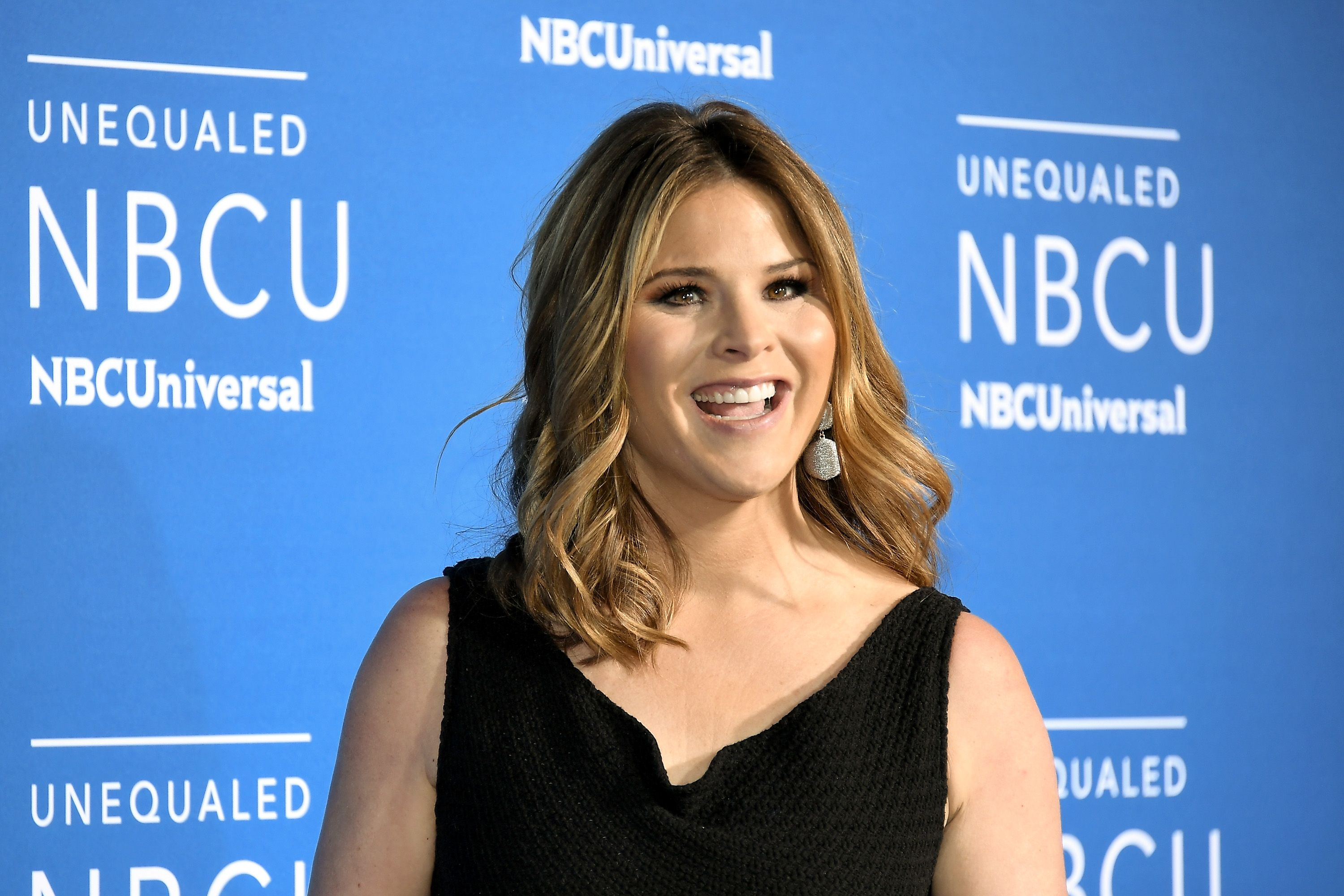 Jenna Bush Hager at the 2017 NBCUniversal Upfront at Radio City Music Hall on May 15, 2017 | Photo: Getty Images