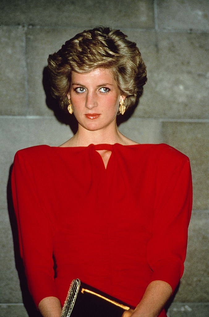 Princess Diana at a state reception October 01, 1988   Photo: Getty Images