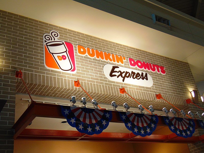 The Dunkin' Donuts Express in Chicago Midway Airport | Source: Wikimedia commons/ JJBers Public