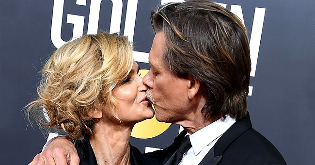 ET Online: Kevin Bacon Praises His Wife Kyra Sedgwick, Whom He Has Been Married to for 32 Years