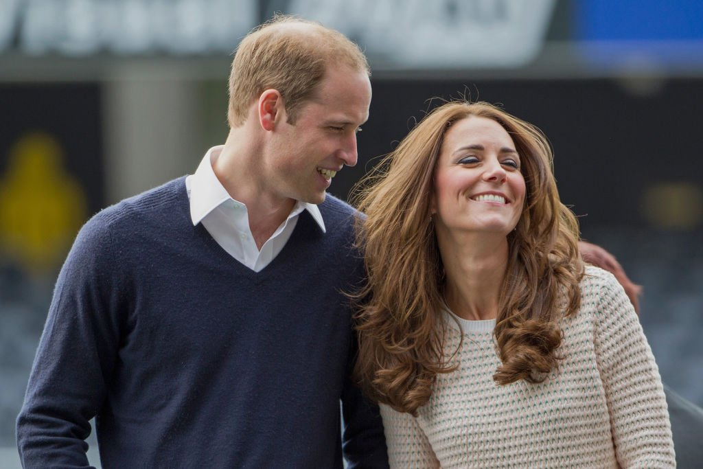 Prince William, and his wife Kate Middleton attend 'Rippa Rugby' in the Forstyth Barr Stadium on April 13, 2014 in Dunedin, New Zealand | Photo: Getty Images