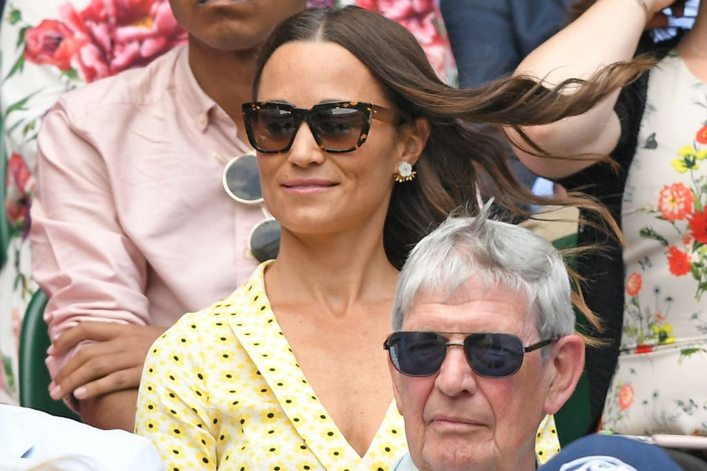 Pippa Middleton attends Wimbledon 2019 to view the Men Singles Semi-Finals | Photo: Getty Images